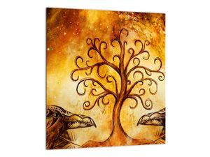 Naravna abstraktna slika drevesa (V022111V3030)