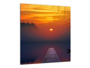 Híd képe naplementekor (V020012V4040)