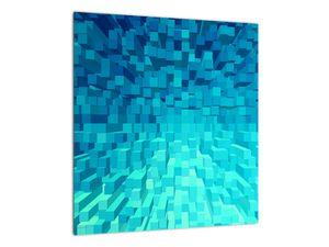 Obraz - abstraktní kostky (V020021V4040)