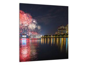 Tablou cu artificii in Singapur (V020035V4040)