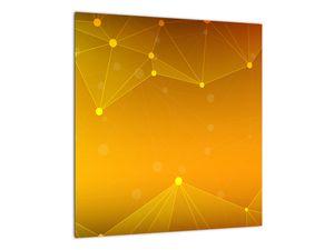 Abstraktní žlutý obraz (V020045V4040)