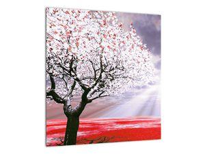 Červený obraz stromu (V020052V4040)