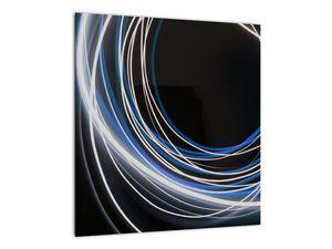 Tablou cu linii albastre (V020053V4040)