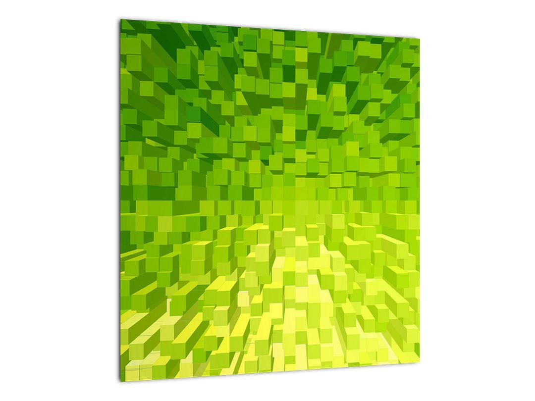 Obraz žlutozelených kostiček (V020057V4040)