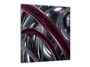 Tablou cu abstracție gri (V020094V4040)