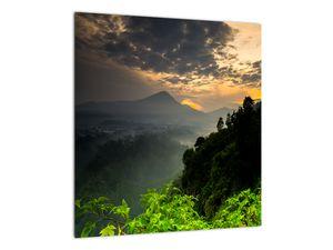 Obraz - zelená horská krajina (V020249V4040)