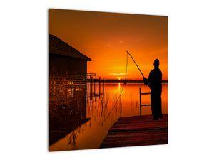 Tablou cu pescar (V020264V4040)