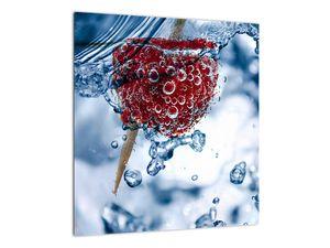 Kép - málna részlete a vízben (V020516V4040)