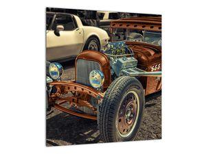 Obraz hnědého auta (V020538V4040)
