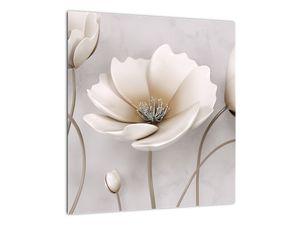 Obraz bílých květin (V020898V4040)