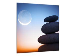 Obraz poskládaných kamenů na sobě (V020903V4040)