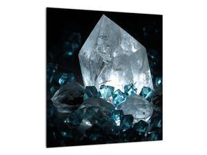 Schilderij - Kristal (V021107V4040)