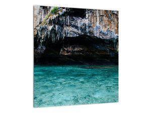 A víz és a sziklák képe (V021152V4040)