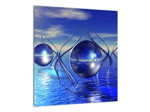 Obraz abstrakce - voda (V021284V4040)