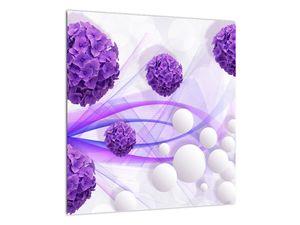 Obraz - Koule, kuličky, květy, ... (V021304V4040)