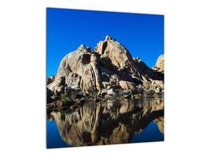 Obraz zrkadlenie skál (V021327V4040)