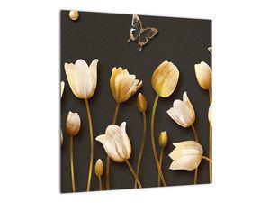 Obraz - Tulipány - abstraktné (V021347V4040)