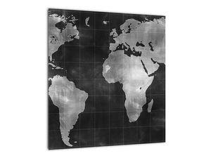 Obraz - Mapa světa (V021461V4040)
