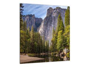 Kép - A Yosemite szikla alatt (V021691V4040)