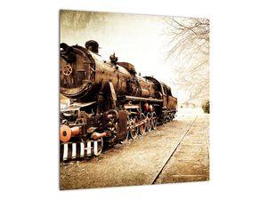 Slika - Povijesna lokomotiva (V021959V4040)