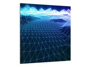 Slika - Planine u računalnom modelu (V022019V4040)