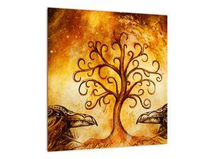 Naravna abstraktna slika drevesa (V022111V4040)