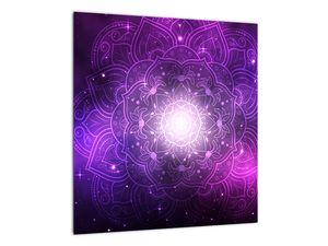 Obraz fialové abstrakce (V022148V4040)