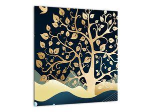 Slika zlatega drevesa (V022286V4040)