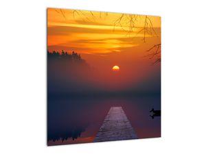 Híd képe naplementekor (V020012V5050)