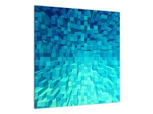 Obraz - abstraktní kostky (V020021V5050)