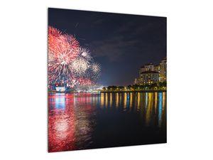 Tablou cu artificii in Singapur (V020035V5050)