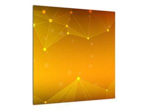 Abstraktní žlutý obraz (V020045V5050)