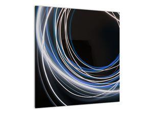Tablou cu linii albastre (V020053V5050)