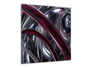 Tablou cu abstracție gri (V020094V5050)