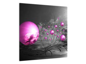 Obraz ružových gulí (V020108V5050)