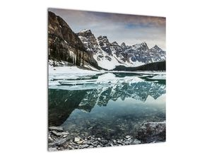 Tablou - lacul iarna (V020181V5050)