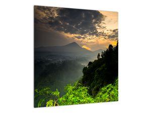 Obraz - zelená horská krajina (V020249V5050)
