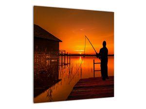 Tablou cu pescar (V020264V5050)