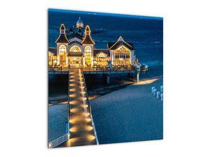 Tablou - hotel pe plajă (V020289V5050)