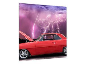 Slika crvenog automobila (V020409V5050)