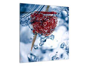 Kép - málna részlete a vízben (V020516V5050)