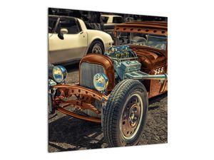 Obraz hnědého auta (V020538V5050)