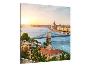 Obraz města Budapešť s řekou (V020712V5050)