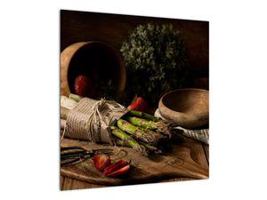 Obraz špargle na stole (V020883V5050)