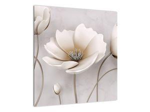 Obraz bílých květin (V020898V5050)