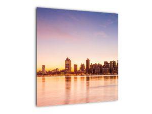 Obraz města při západu slunce (V020924V5050)