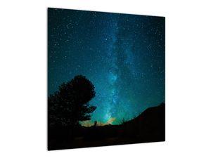 Obraz nočnej oblohy s hviezdami (V021100V5050)