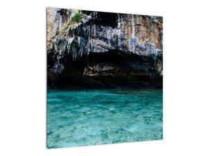 A víz és a sziklák képe (V021152V5050)