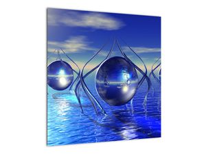 Obraz abstrakce - voda (V021284V5050)