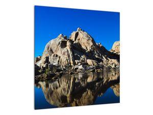 Obraz zrkadlenie skál (V021327V5050)